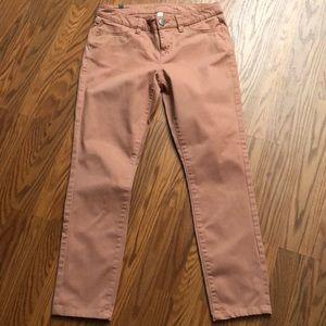 LC Lauren Conrad cropped jeans